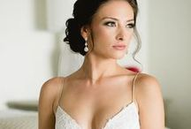 Wedding Up-Dos / Real Cabo destination wedding brides we have styled with stunning up-dos!