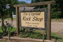 "The Crystal Rock Shop / We offer a large selection of crystals, gemstones, fossils & minerals. Along with beautiful jewelry, hand-made items, candles, a wide variety of incense, & herbs.   Tucked away on Roy road in Tyler The Crystal Rock Shop has been ""rocking"" sense the 80's   Opened in the 80's by Bill & Gene Wheless The Crystal Rock Shop continues to be a family owned an operated store. Now owned by their son Robert, who hopes to keep the shops traditions going."