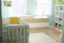 Nursery Inspiration / by Corinne Citrolo . The Fresh Stitch