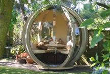 Gartenhaus / #Gartenhaus aus #Holz oder #Glas. Ein kleines Haus im eigenen #Garten. Ihr #GalaBau in #Jüchen www.ericclassen.de