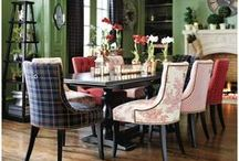 Chairs~Chaise~Ottoman's~Sofa's / by Mary Mac