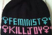 Feminism is my Homegirl / Street art, words, books, everyday acts of rebellion.