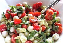 Salads/dressings/sauces / by Christine Wickenheiser