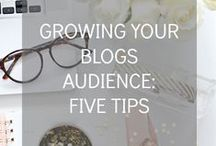 BLOGGING. / Blogging tips and tricks from the best bloggers around.