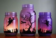 HALLOWEEN. / Home decoration for all Hallows Eve & Spooky treats for Halloween parties.