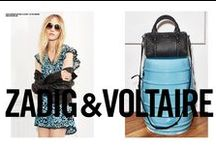 SPRING-SUMMER 15 // CAMPAIGN / Zadig & Voltaire has a new face!  Sasha Pivovarova by Fred Meylan for Spring Summer 2015 Campaign! http://bit.ly/1AQbBmZ