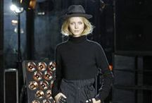 """FALL-WINTER 15-16 // MIDNIGHT VAGABOND   FASHION PRESENTATION / """"She is young, free, rock 'n' roll and ... Parisian. Madly so. With an air of Bob Dylan's je ne sais quoi, she leaves an underground concert somewhere along rue Saint Benoît."""" Cecilia Bönström"""