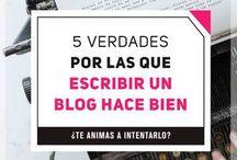 Tips de Blogging / Consejos sobre como hacer crecer un blog, ganar  visibilidad, mejorar el diseño y aumentar tus ingresos.