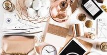 Copper Christmas / All things copper and Christmas. Bronze, copper and rose gold festive treats.