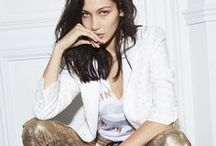 SPRING-SUMMER 17 // CAMPAIGN / Introducing our Spring-Summer 17 collection and campaign.  Featuring Bella Hadid, Anwar Hadid, Clara 3000 and Vera Van Erp.  More on: http://zadigetvoltaire.com/