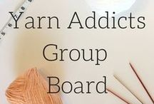 Yarn Addicts, Knitting and Crochet Addicts Group Board / Looking for collaborators! Go to www.veronicamarae.com/yarn-addicts-group-board. This board is for posting knitting patterns, crochet patterns and your favorite yarn. Please don't blatantly advertise. Let's work together to grow our businesses!