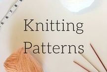 knitting Patterns / Find free and paid knit patterns on this board. I look for the best of the best. I also add tips and tutorials here because everyone needs help once and awhile.