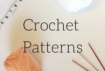 Crochet Patterns / This board will have free and paid crochet patterns only. I pin what I think is the best of the best. I look for original patterns, as well as variations of classic crochet patterns.
