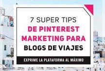 Mejores Pins de Viajes / Pinterest para Blogs de Viajes.  En este tablero comparto pins de blogs de viajes para inspirar tus diseños y tu estrategia de Marketing en Pinterest