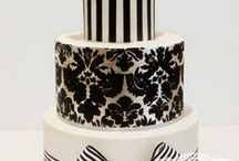 Black & White Weddings / Black & White Wedding Ideas and Inspiration - Aisle decorations, favors, bridal bouquets, stationery, table settings, wedding cakes, reception and ceremony decor, centerpieces ...