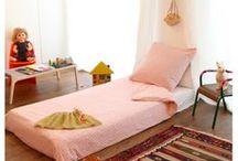 Montessori Floor Bed / Examples of children's floor beds.
