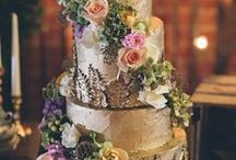 Golden Weddings / Golden Wedding Ideas and Inspiration - Aisle decorations, favors, bridal bouquets, stationery, table settings, wedding cakes, reception and ceremony decor, centerpieces ...
