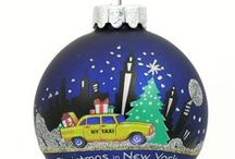 New York Christmas Ornaments / New York City Christmas ornaments and decoration.