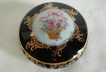 limoges trinket boxes / by Laura Bryan