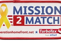 Mission2Match / TurboTax and Operation Homefront joining forces to support those who support us.