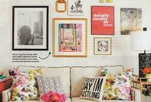 Home Decor: Living / by Amy Schwartz