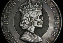 Hobo Nickels - Vintage Charms / Hobo Nickels, Carved & Etched coins