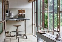 Naturalist Industrial / Vintage indus interiors.