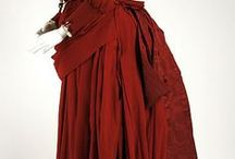 Tea Gowns / Beautiful tea gowns from the late 1800's to 1930's.  Elegant ladies fashion.