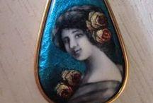 Limoges Charms & Pendants - Vintage Jewelry