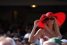 Kentucky Derby fashion & ambiance / ...and a little bit from Oaks Day and general Keeneland race track fashion thrown in