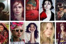Femmes magnifiques / Portraits de femmes qui nous montrent la beauté sous toutes ses formes!