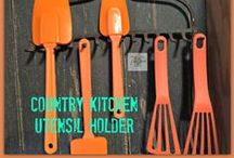 Lots of FUN DIY! / DIY Kitchen, DIY Home, DIY Garden, DIY Home Projects / by Holly Capron This Side Of The Fence