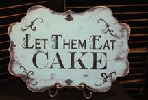 Cakes, Cakes, Cakes / Cakes that inspire me. / by Melissa Davies Designs