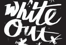 White out / by Barbara Burks-Hallinan