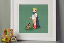 Belle & Boo Art Prints / Celebrating those simple yet precious moments in life, Mandy's charming illustrations have the ability to engage children and adults in equal measure.