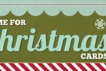 Stampin' up! Christmas cards / by Melissa Davies - bee divine designs