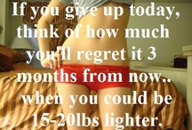 Diet Motivation!! / Weight Loss Inspiration / by Valerie