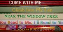 Book Spine Poetry / Poems created using titles from book spines.
