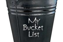 My Bucket List / by Melissa Davies Designs
