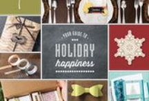 Stampin' Up! 2013/14 Holiday Catalogue / by Melissa Davies Designs