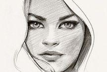 Faces/Portraits inspiration