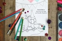 Free Belle & Boo Printables / Things to cut, stick and make at home. Projects include: cake wraps, colouring in sheets and party invitations. All can be downloaded and enjoyed for free!