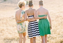 Bridesmaids / Beautiful bridesmaids, formal portraits + real wedding inspiration.  / by Tess Pace