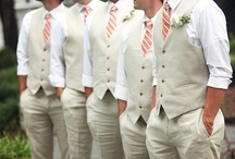 Guys + Grooms / Handsome grooms, groomsmen, formal portraits + real wedding inspiration.  / by Tess Pace