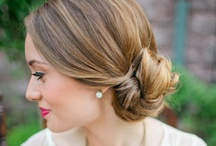 Wedding Hair / Wedding hair styles and tutorials; inspiration and ideas for your wedding hair.  / by Tess Pace