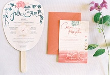 Wedding Invitations + Stationery / Pretty real wedding invitation & stationery photos; wedding invitation & stationery inspiration and ideas for your wedding.  / by Tess Pace