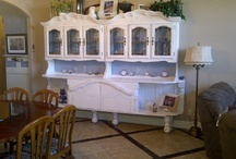 shanD's shabby chic / Two loves of my life, my hubby who helped me build these, and Shabby Chic!  I win either way....:))