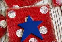Fourth of July Inspiration / Ideas & Inspiration for 4th of July | Fourth of July Inspiration | Decorations for the 4th of July | Fourth of July Ideas | http://mylifefromhome.com/