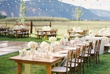 Receptions / Beautiful real wedding receptions.  / by Tess Pace