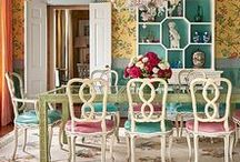 Dining In / Dining room decor that will make you want to stay at home.